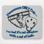 La única taza Mousepad de Vancouver Tapetes De Ratones