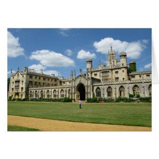 La universidad Cambridge de St John Felicitación