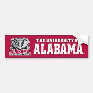 La universidad de Alabama Pegatina Para Auto