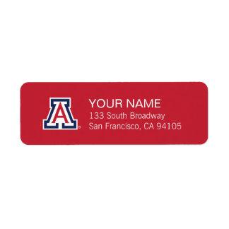 La Universidad de Arizona el | A Etiqueta De Remite