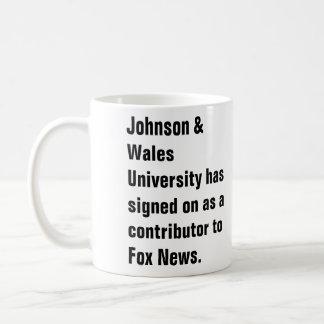 La universidad de Johnson y de País de Gales ha fi Taza De Café