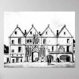 La universidad de Navarra en 1440 Poster