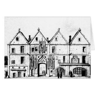 La universidad de Navarra en 1440 Tarjeta De Felicitación