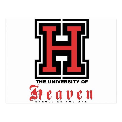 La universidad del cielo… tarjeta postal