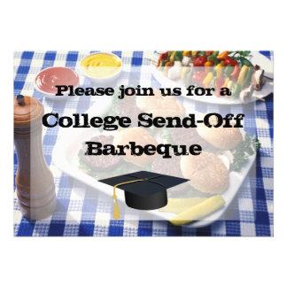 La universidad Envía-apagado las hamburguesas del