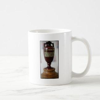 la urna de las cenizas taza