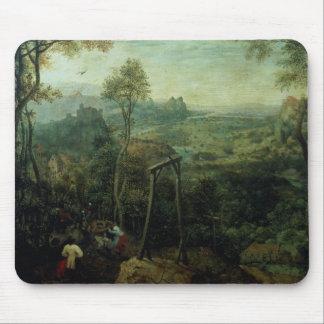 La urraca en la horca, 1568 alfombrilla de ratones