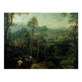 La urraca en la horca, 1568 tarjetas postales