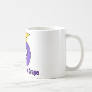 La uva educada taza de café