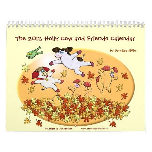 La vaca 2013 del acebo y el calendario de los