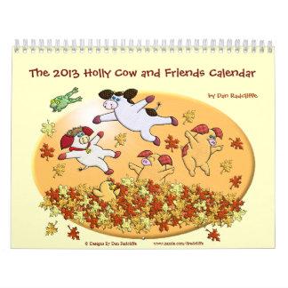 La vaca 2013 del acebo y el calendario de los amig