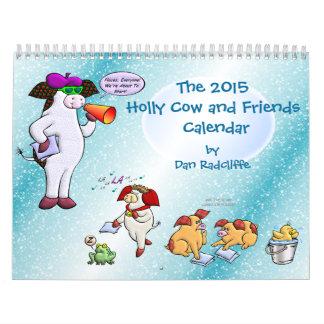 La vaca 2015 del acebo y el calendario de los