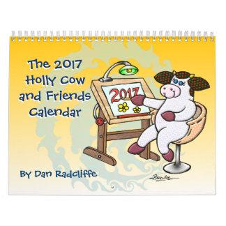 La vaca 2017 del acebo y el calendario de los