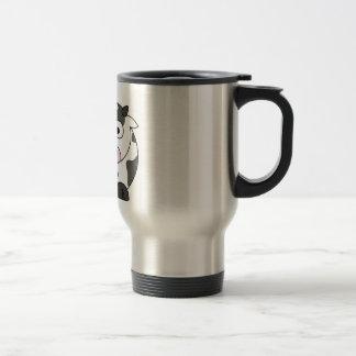 La vaca dice el μ tazas de café