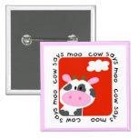 La vaca dice las camisetas y los regalos del MOO Pins