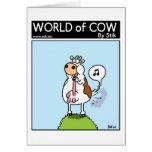 La vaca farts tono felicitación