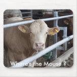 ¿La vaca lechera Suecia, donde es el ratón? Tapete De Raton
