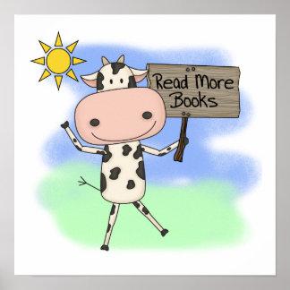 La vaca leyó más libros impresiones