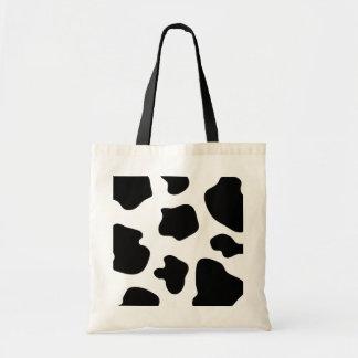 La vaca mancha el estampado de animales de la