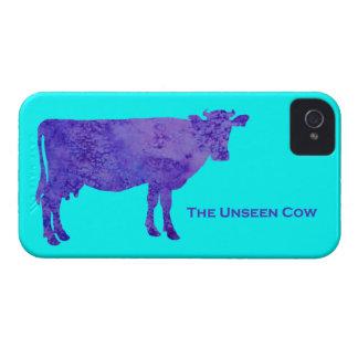 La vaca no vista iPhone 4 Case-Mate funda