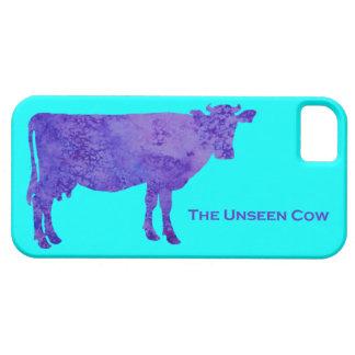 La vaca no vista iPhone 5 carcasas