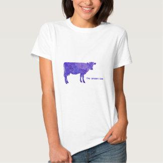La vaca no vista playeras