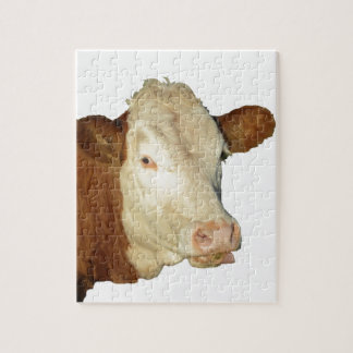La vaca puzzle con fotos