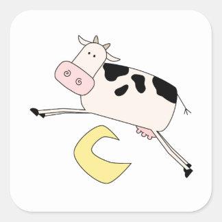La vaca salta sobre la luna