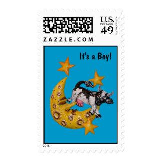 La vaca saltada sobre el sello de la luna (b)