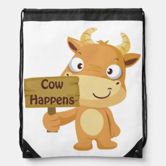 La vaca sucede mochilas