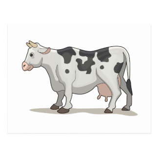 La vaca tarjeta postal