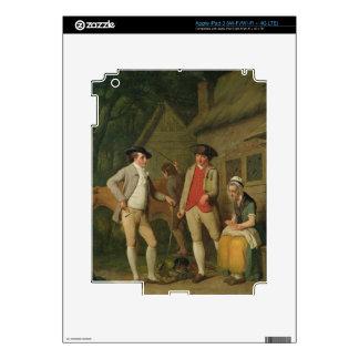 La vaca y las mercancías de la variedad de manzana pegatinas skins para iPad 3