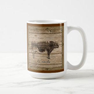 la vache coffee mug
