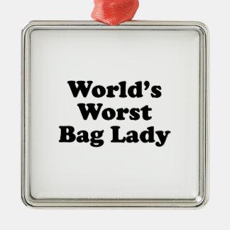 La vagabunda peor del mundo ornamentos de navidad