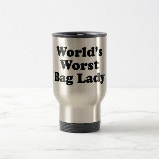 La vagabunda peor del mundo taza de café