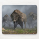 La vanguardia del búfalo alfombrillas de raton