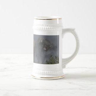 La vanguardia del búfalo taza de café