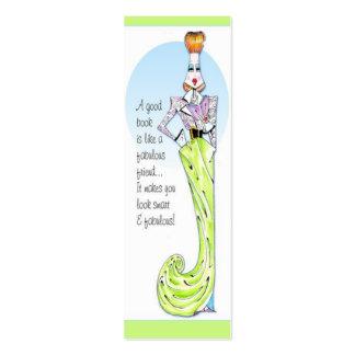 La vanidad encajona el icono de los años 40 de la tarjeta personal