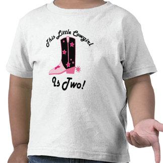 La vaquera es regalo de cumpleaños 2 camiseta