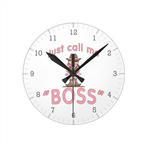 La vaquera me llama Boss Reloj