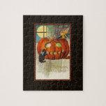 La vara Halloween de la bruja Rompecabeza Con Fotos