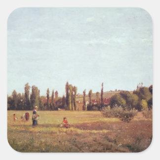 La Varenne de St. Hilaire, 1863 Square Sticker