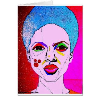 La Veda as Pop Art Card