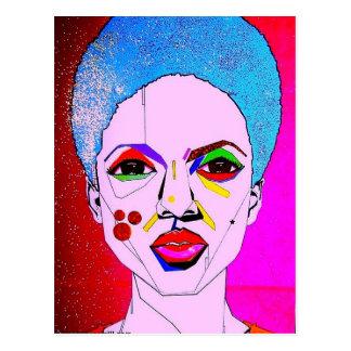 La Veda as Pop Art Postcard