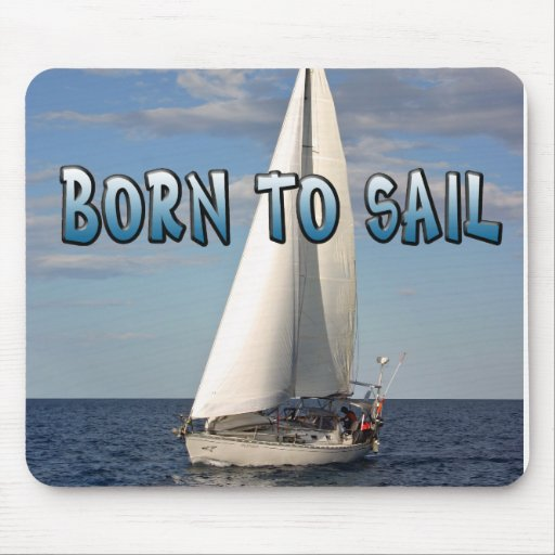 La vela ayuna Nauticals Tapete De Raton