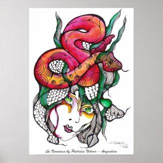 La Venenosa- Poisonous Girl print