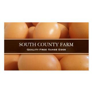 La venta de la gama libre Eggs la foto - tarjeta Tarjeta De Visita