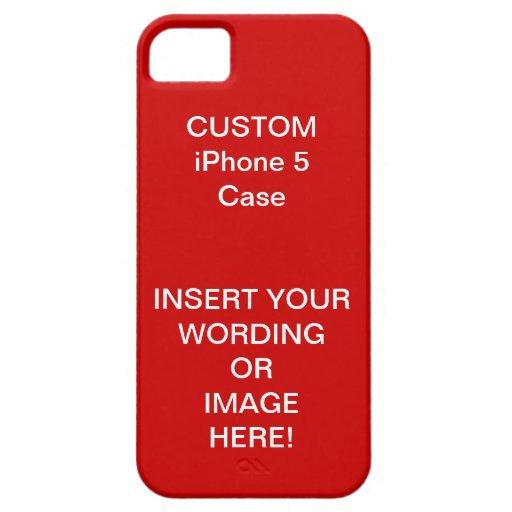 La VENTA de la TARJETA DEL DÍA DE SAN VALENTÍN - H iPhone 5 Case-Mate Protector