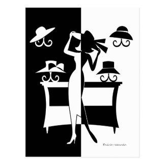 La venta del gorra postales
