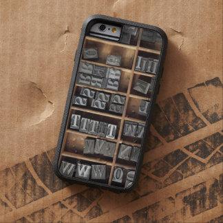 La ventaja de la prensa de copiar mecanografía funda para  iPhone 6 tough xtreme